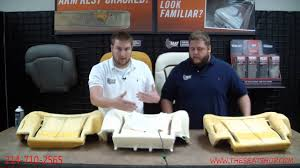 dodge dakota seat foam the seat shop s durofoam seat cushion for 2000 2002 chevy tahoe