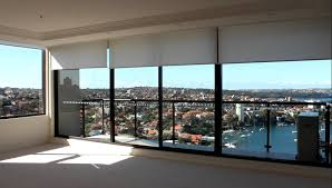 north sydney apartment motorised remote control roller blinds