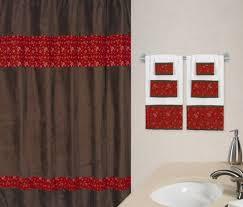 Western Bathroom Shower Curtains Western Theme Fabric Bath Shower Curtain Bandana Print