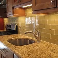 kitchen fascinating kitchen glass subway tile backsplash ideas