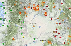 map of oregon smoke worried about wildfire smoke here s how to track air quality in