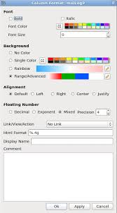 Html Table Font Color Icm User U0027s Guide Standard Icm Tables