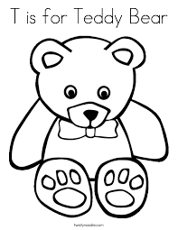 bear coloring teddy colouring baby bear coloring pages