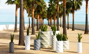 Design Flower Pots Flawless Design Marquis Flower Pots By Vondom