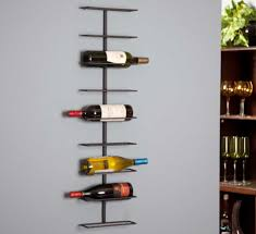 modern wine glass rack by joining two curves home interior