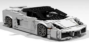 lego lamborghini car lamborghini gallardo lp560 4 spyder a lego creation by