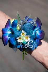 blue corsages for prom blue orchids blue purple tie dye orchid corsage s