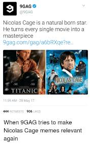 What Movie Is The Nicolas Cage Meme From - 25 best memes about nicolas cage memes nicolas cage memes