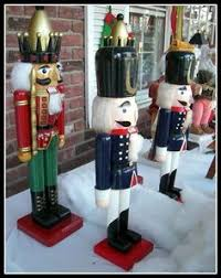 size nutcrackers soldiers wooden size 6