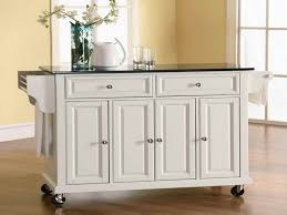 kitchen island wheels white kitchen island on wheels styles combined with cabinets and