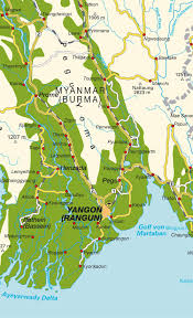 Map Burma Map Of Myanmar Birma Maps And Directions At Map