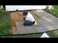 Diy Patio Pavers Installation How To Build A Paver Patio Patio Stone Patios And How To Build