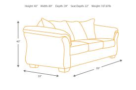 darcy cobblestone sofa signature design by ashley furniture