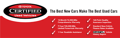 toyota certified pre owned cars toyota certified pre owned vehicles the best cars the