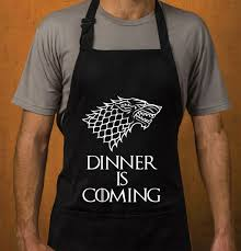game of thrones grill apron gift idea for men and women