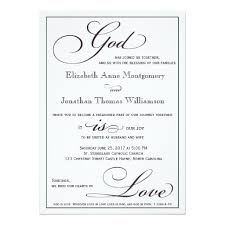 christian wedding invitation wording god is christian script wedding invitation weddings