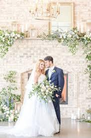 wedding flowers greenery fresh wedding flowers in blue and gold hey wedding
