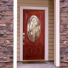 glass entry door inserts decor oak wood home depot entry doors with half lite for home