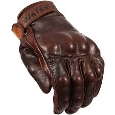 motorcycle gloves weise victory classic motorcycle glove retro style brown armoured