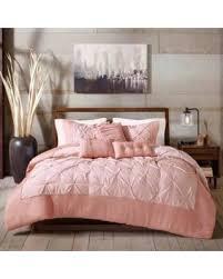 Solid Beige Comforter Spectacular Deal On Eco Weave Gogreen Sunny 6 Piece Pintuck