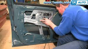 how to install replace power window motor chevy equinox 05 09