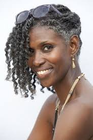 hairstyles for black women age 35 35 best gorgeous gray natural hair images on pinterest grey hair