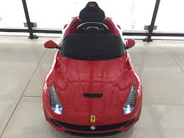 ferrari electric car kids electric ride on toys free ship 6v 12v lambo quality ride