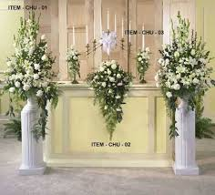 wedding floral arrangements best 25 church flower arrangements ideas on flowers