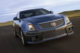 detroit show 2009 cadillac cts v with 550 hp supercharged v8