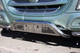 porta targa auto central bar with pierced license plate holder 60 daf xf 106