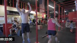 crossfit wod 120827 demo with chris spealler youtube
