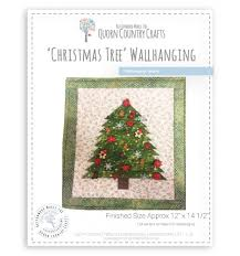 christmas tree u0027 wallhanging