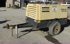2000 atlas copco xas96 air compressor item f4842 sold j