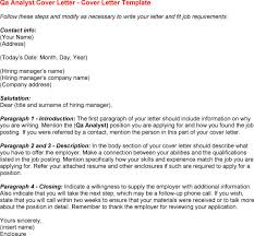 Quality Assurance Analyst Resume Sle by Software Qa Cover Letters Resumess Memberpro Co