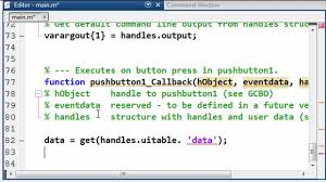 guide matlab manipulating the data in a uitable in guide video matlab