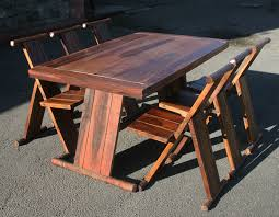innovative folding wood dining table oak folding table and chairs