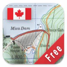canada topo maps free 4 5 2 free télécharger l apk pour android