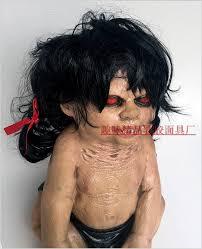 terror red eye zombie halloween party prop horror doll bad kids