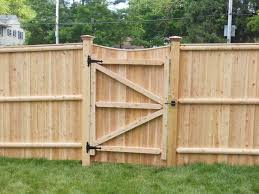 Privacy Fence Ideas For Backyard Fence Gate Designs Cedar Lattice With Gate Fences Boston Ma