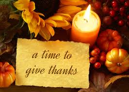 a time to give thanks business thanksgiving card