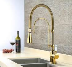 European Kitchen Faucets Aliexpress Buy European Style Brass Gold Chrome Finished