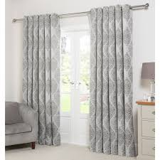 Demask Curtains Damask Jacquard Lined Curtains