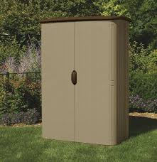 Storage Shed For Backyard by 52 Cu Ft Vertical Shed Suncast Corporation