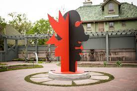 Tree Faces Garden Art A Monumental Ode To Calder At Denver Botanic Gardens 303 Magazine