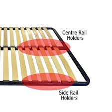replacement 53mm sprung bed slats and holders kit
