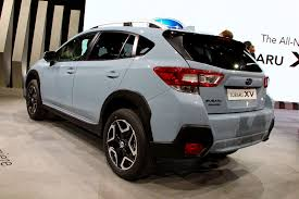 subaru crossover 2012 2018 subaru crosstrek debuts with better off road capability