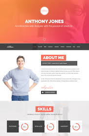 html resume builder hired a responsive resume template websites free one page online resume website 17 best images about cv flat design layout