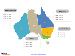United States Map With Labeled States by Free Australia Editable Map Free Powerpoint Templates