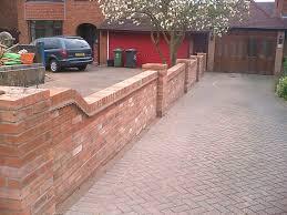 Front Garden Walls Ideas Brick Garden Wall Ideas Walls Ideas