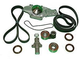 2003 honda accord v6 timing belt replacement amazon com tbk timing belt kit honda accord v6 3 0l 2003 2004